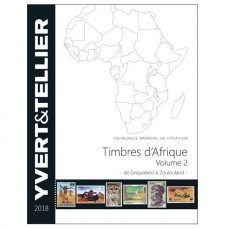 ÁFRICA, VOL. 2, GRIQUALAND A ZOULOULAND, 2018, YVERT & TELLIER