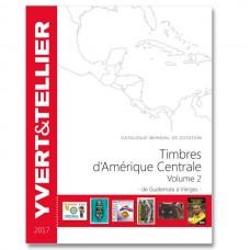 AMÉRICA CENTRAL VOL.2 GUATEMALA A VIRGENS, 2017, YVERT & TELLIER
