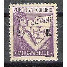 MOÇAMBIQUE, 1933, LUSÍADAS, AF#285, 2$00, impressão taxa deslocada, MH