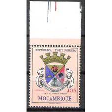 MOÇAMBIQUE, 1961, BRASÕES, AF#431, $05, VAR, MNH