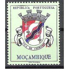 MOÇAMBIQUE, 1961, BRASÕES, AF#432, $15, MNH