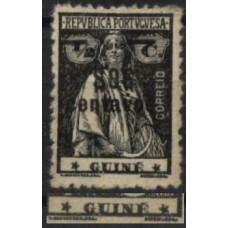 GUINÉ, 1920, CERES, C/SOBRETAXA, CE#175, III-IV, NÃO CATALOGADO, MH