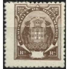 Cª MOÇAMBIQUE, 1895/02, TIPO «ELEFANTES», CE#14, VAR, SEM TAXA, MH