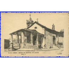 PORTUGAL, 1937, LISBOA, ERMIDA SRA. DO MONTE, OM#86-21, IN