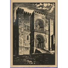 PORTUGAL, 1953, SÉ DE COIMBRA, OM#128, SÉRIE C, Nº 4, IN, MNH