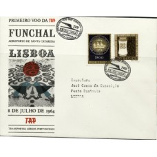 TAP, 1964, 1º VÔO FUNCHAL-LISBOA (TAP196402)